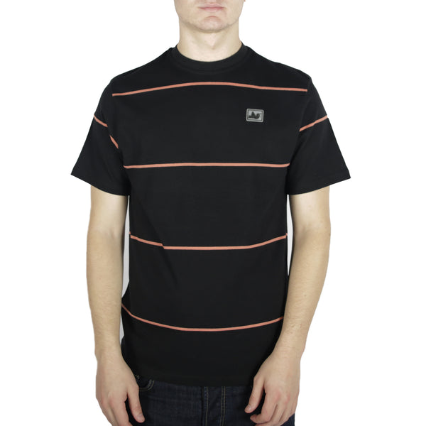 Frank T-Shirt Black / Rust