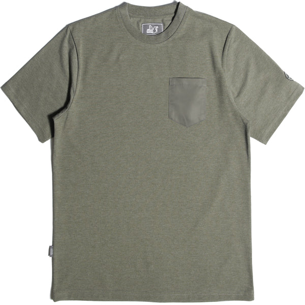 Pocket T-Shirt Khaki - Peaceful Hooligan
