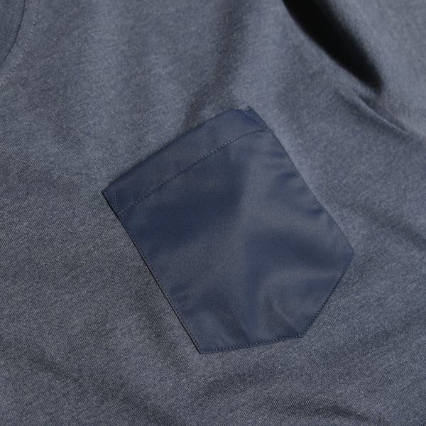 Pocket T-Shirt Navy - Peaceful Hooligan