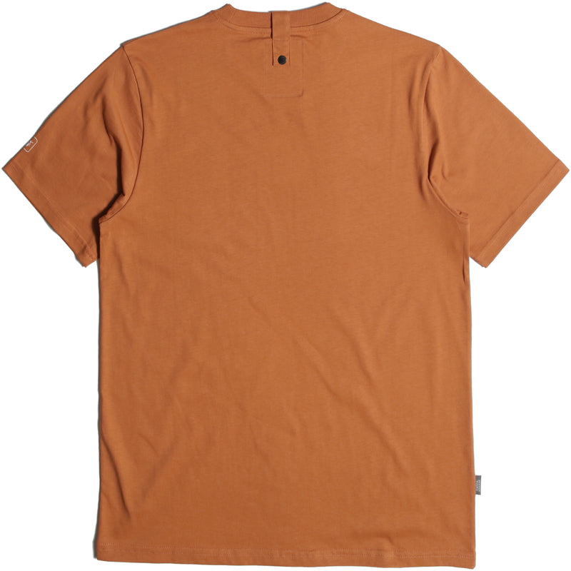 Outline T-Shirt Rust