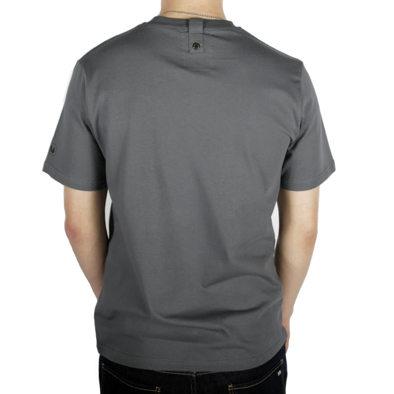 Slant T-Shirt Iron Gate