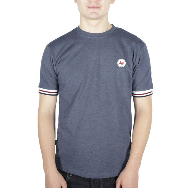 Tipped T-Shirt Navy