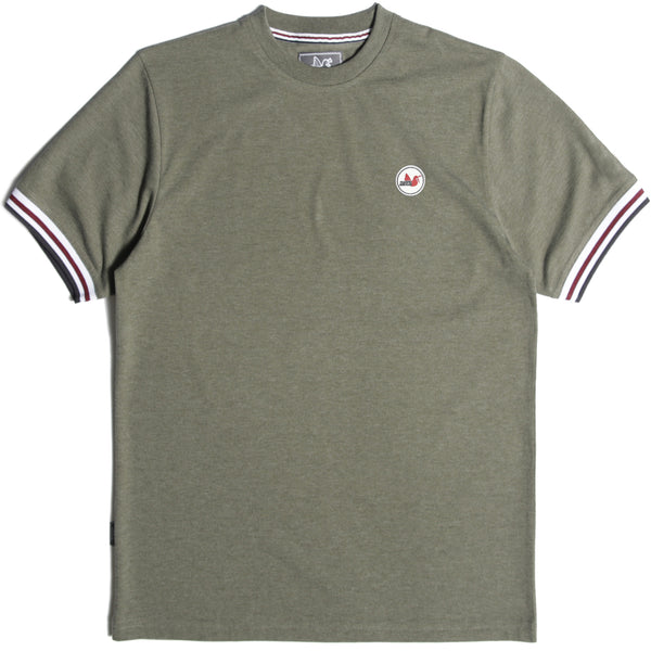Tipped T-Shirt Khaki