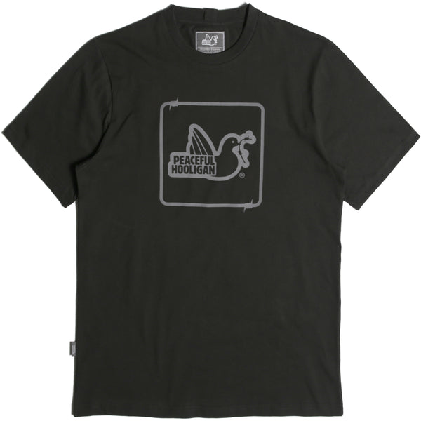 Wire Dove T-Shirt Black