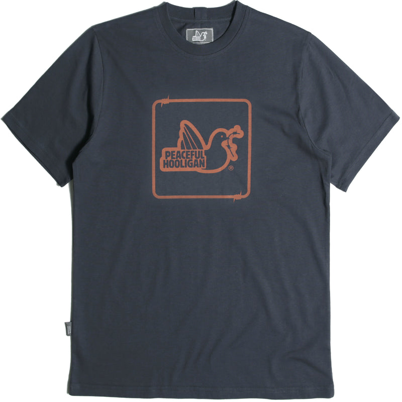 Wire Dove T-Shirt Navy