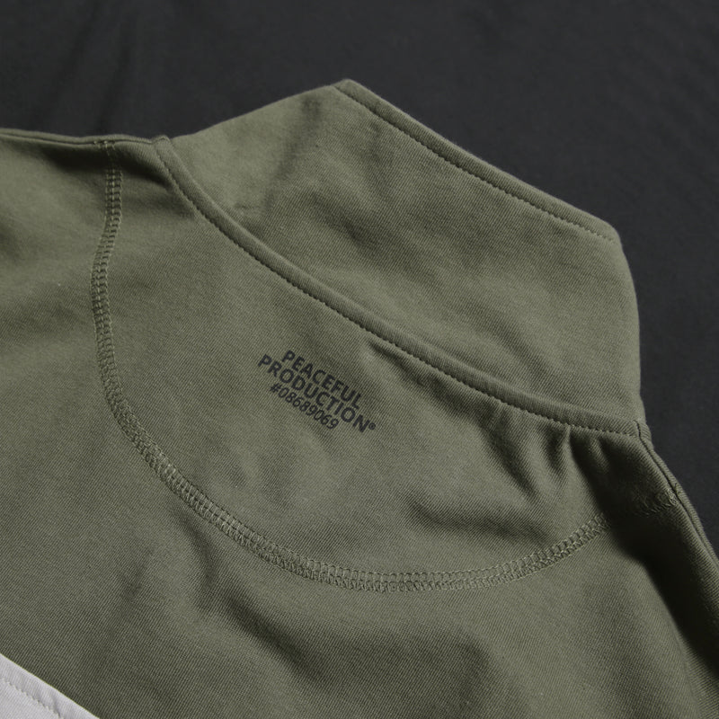 Vision Sweatshirt Black / Olive / Light Grey