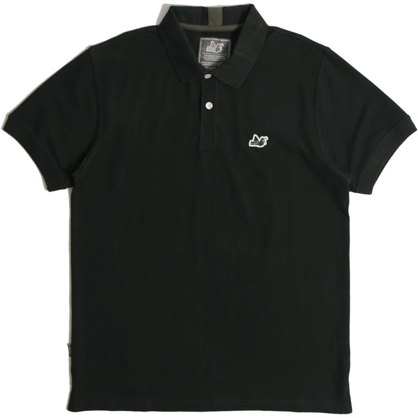 Steward Polo Black