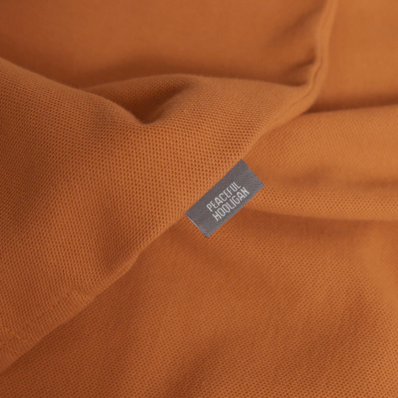 Steward Polo Pumpkin