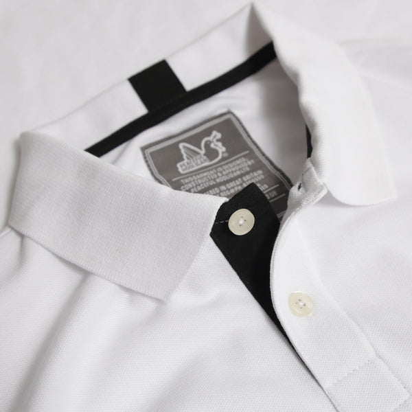Steward Polo White