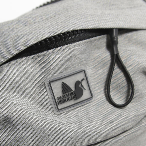 Unit Waist Bag Marl Grey - Peaceful Hooligan