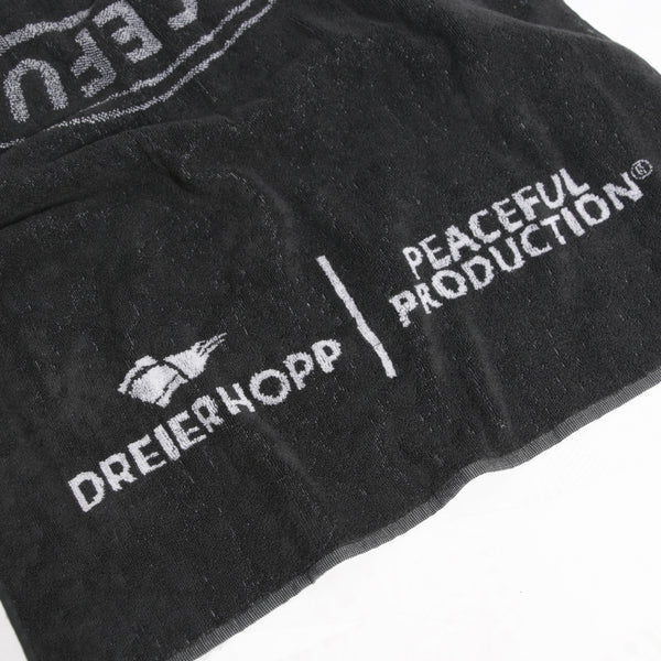 Awaydays Towel Black - Peaceful Hooligan