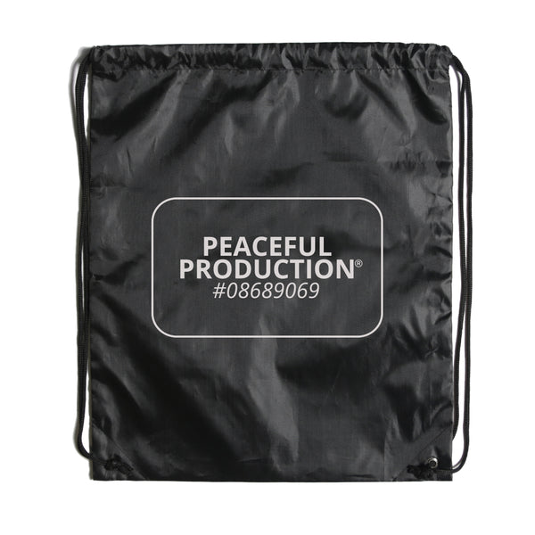 Peaceful Production Gym Sack Grey