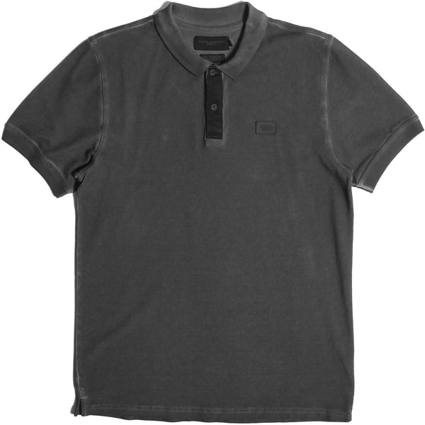 Principle Polo Black - Peaceful Hooligan