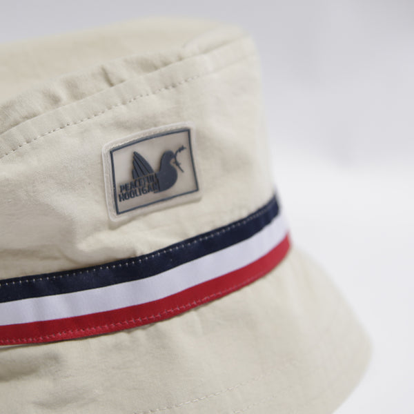 Clark Bucket Hat Oyster - Peaceful Hooligan
