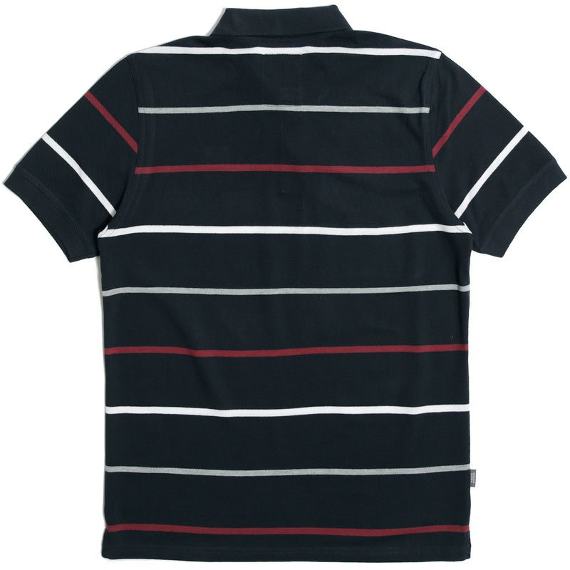 Carlton Polo Navy Stripe - Peaceful Hooligan