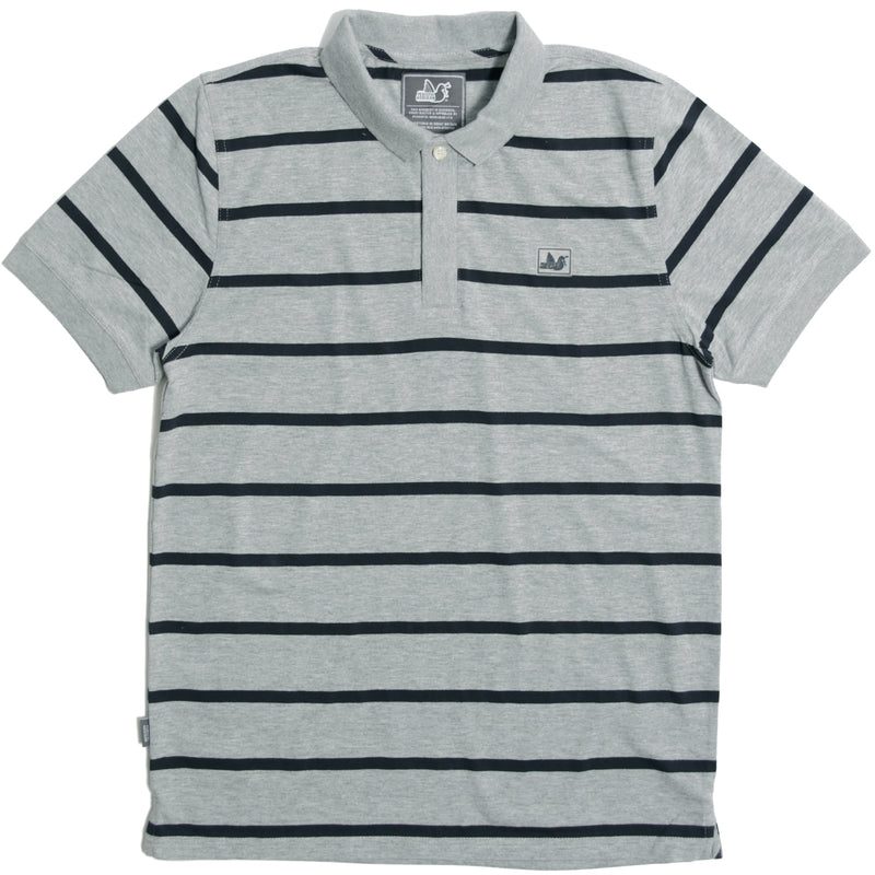 Denver Polo Marl Grey - Peaceful Hooligan