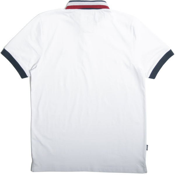 Felix Polo White Stripe - Peaceful Hooligan