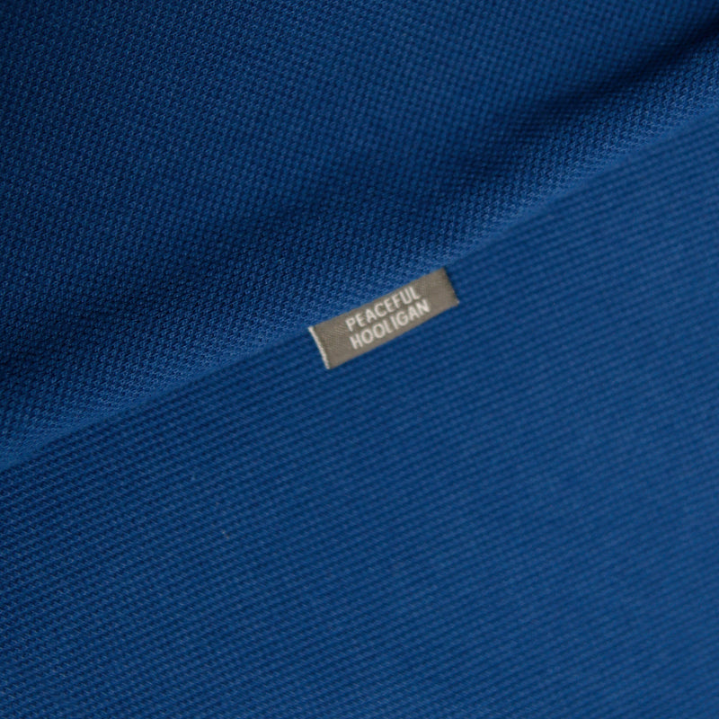 Quinn Polo Bright Blue - Peaceful Hooligan