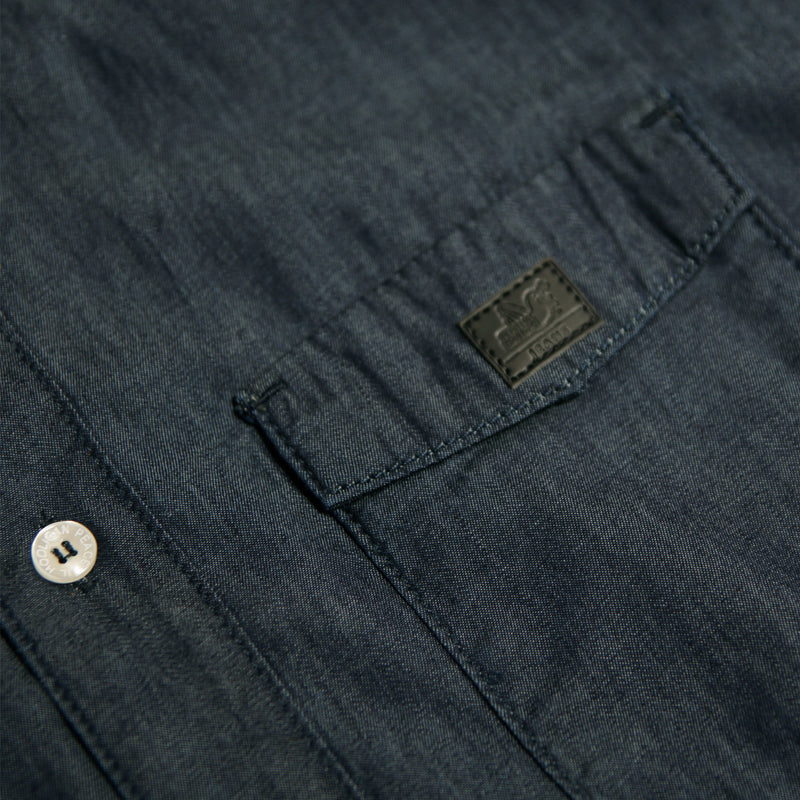 Marlon Shirt Indigo - Peaceful Hooligan