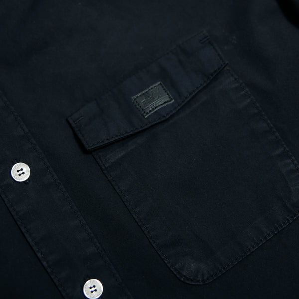 Marlon Shirt Navy - Peaceful Hooligan
