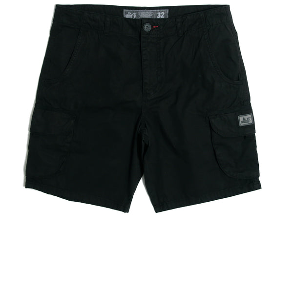 Bunker Shorts Black - Peaceful Hooligan