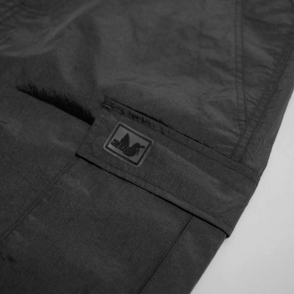 Container Technical Shorts Black - Peaceful Hooligan