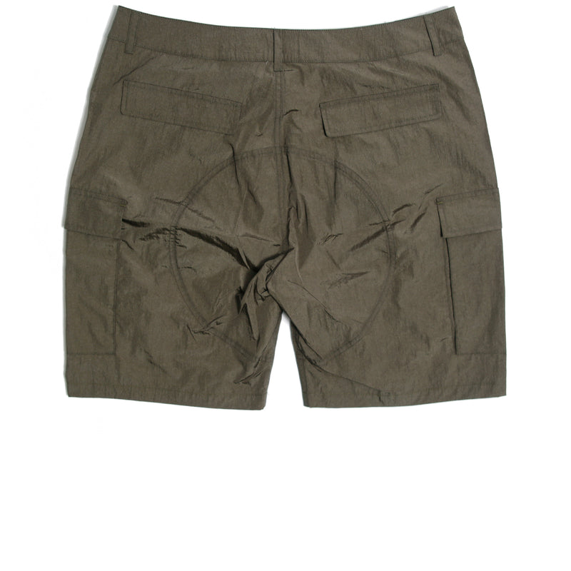 Container Technical Shorts Olive - Peaceful Hooligan