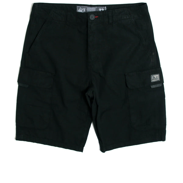Roderick Shorts Black - Peaceful Hooligan