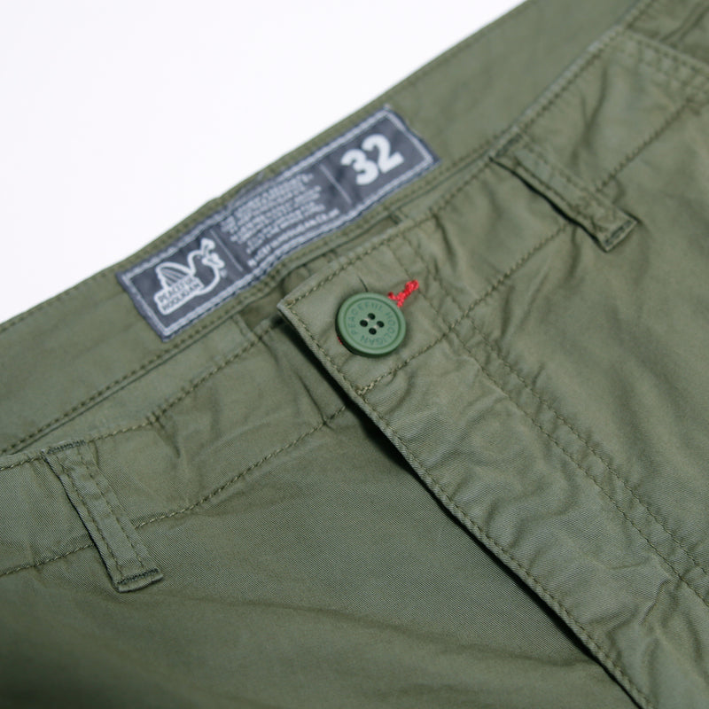 Stanford Shorts Olive - Peaceful Hooligan