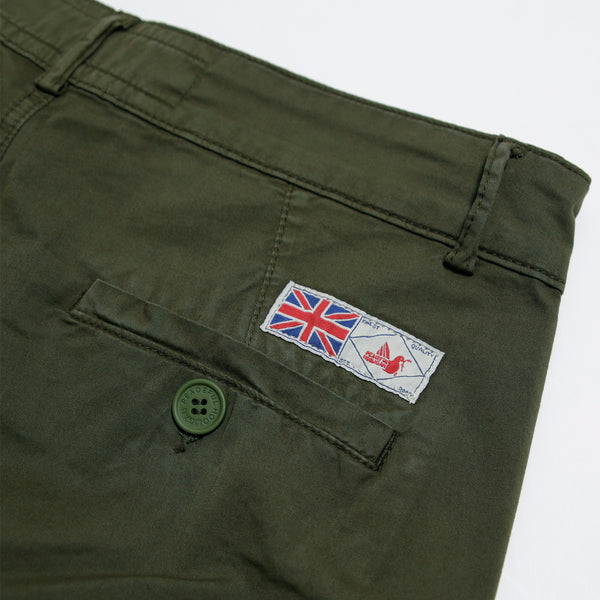 Westley Shorts Olive - Peaceful Hooligan
