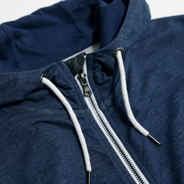 Bradley Hoodie Indigo - Peaceful Hooligan