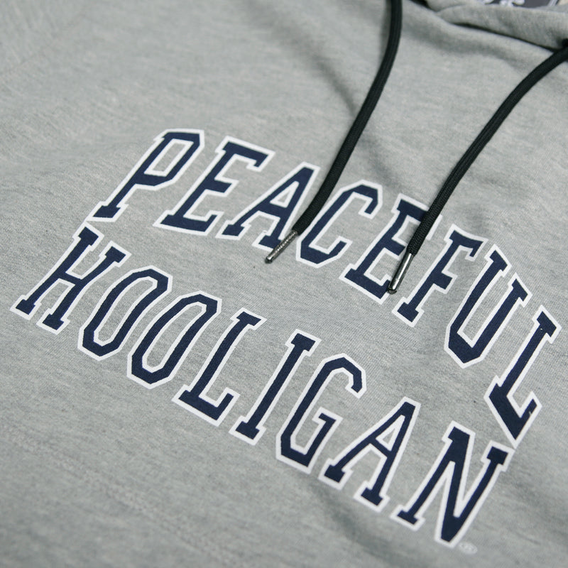 College Hoodie Marl Grey - Peaceful Hooligan