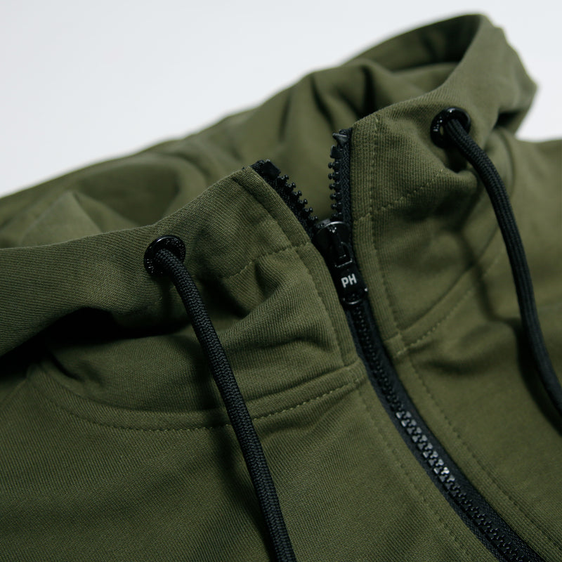 Core Hoodie Olive - Peaceful Hooligan