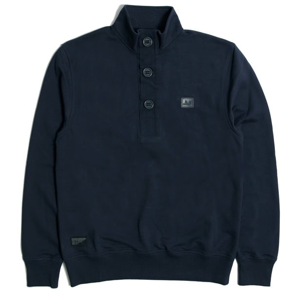 Desmond Sweatshirt Navy - Peaceful Hooligan