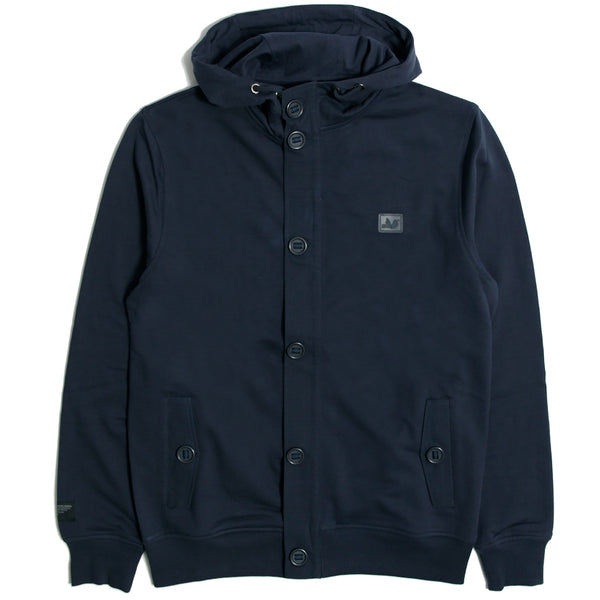 Evander Hoodie Navy - Peaceful Hooligan