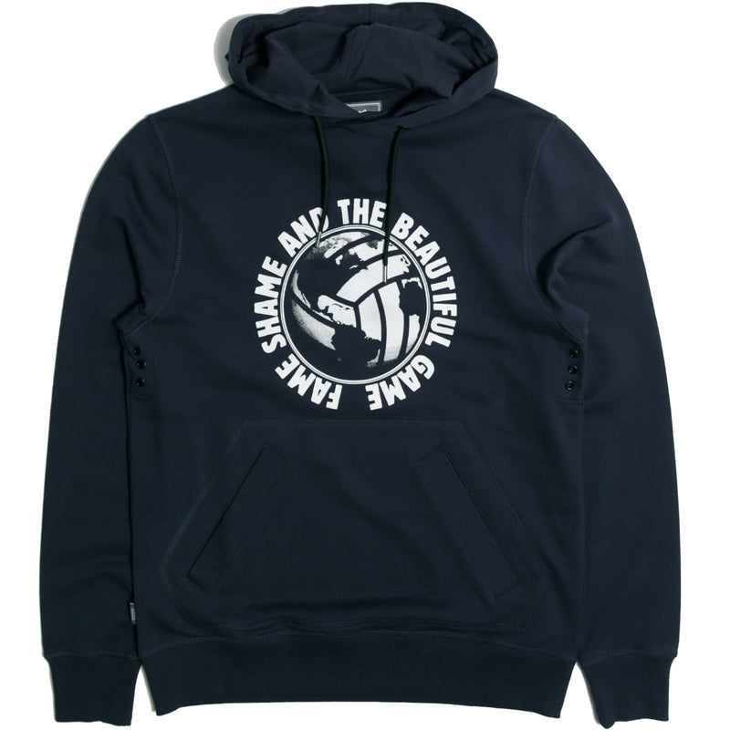Fame Hoodie Navy - Peaceful Hooligan