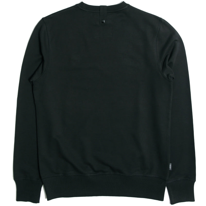 Johnson Sweatshirt Black - Peaceful Hooligan