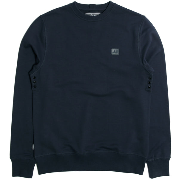 Johnson Sweatshirt Navy - Peaceful Hooligan