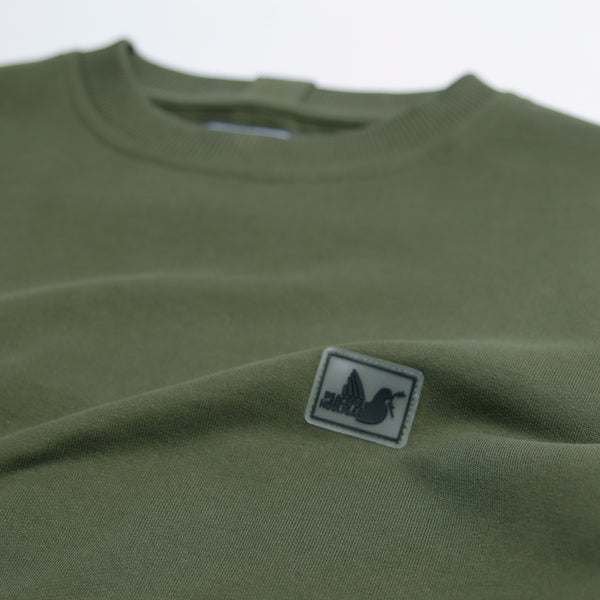 Johnson Sweatshirt Olive - Peaceful Hooligan