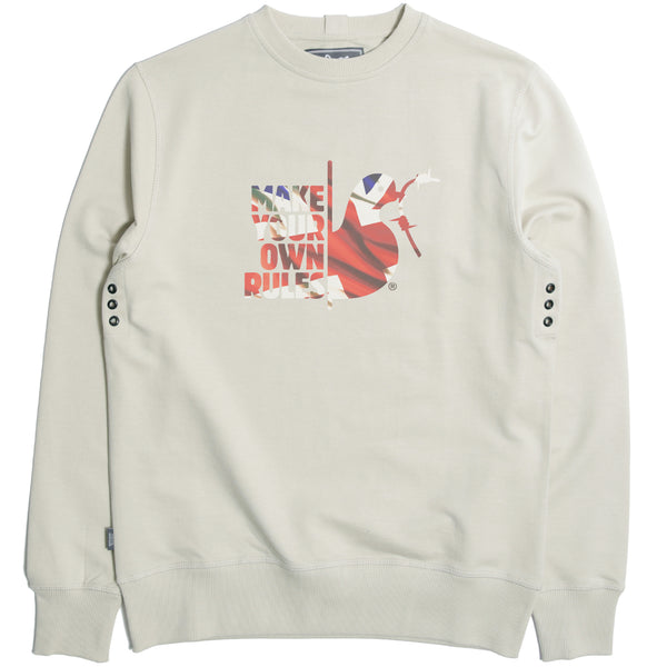 Make Your Own Rules Sweatshirt Oyster