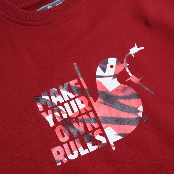 Make Your Own Rules Sweatshirt Dahlia - Peaceful Hooligan