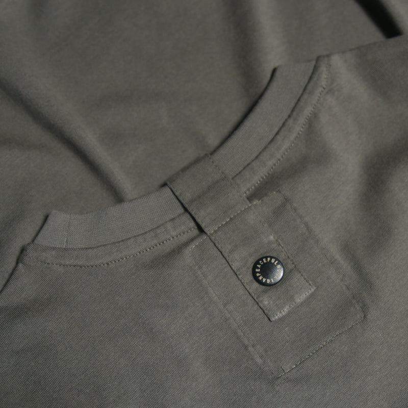 2 Colour Dove T-Shirt Dark Olive - Peaceful Hooligan