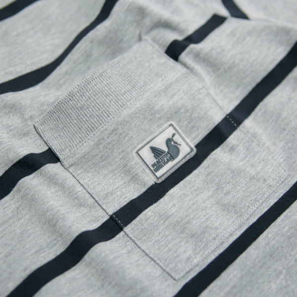 Dallas T-Shirt Marl Grey - Peaceful Hooligan