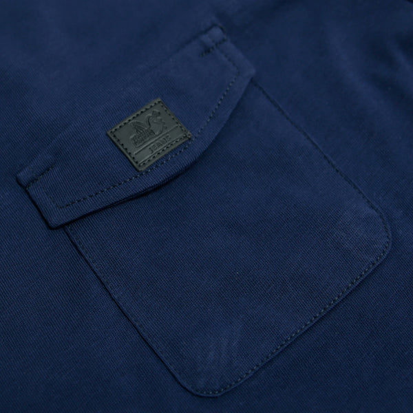 Edmund T-Shirt Indigo - Peaceful Hooligan