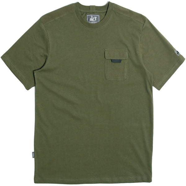 Fletcher T-Shirt Olive - Peaceful Hooligan