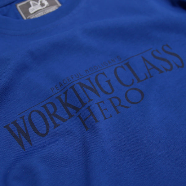 Hero T-Shirt Bright Blue - Peaceful Hooligan