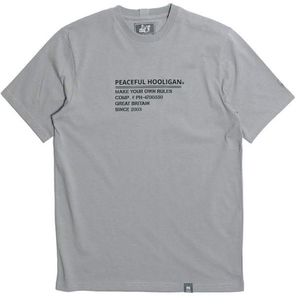 I.D T-Shirt Filigree - Peaceful Hooligan