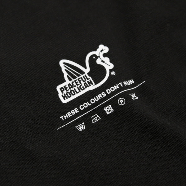 Instructor T-Shirt Black - Peaceful Hooligan