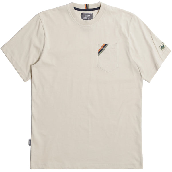 Lavern T-Shirt Oyster - Peaceful Hooligan