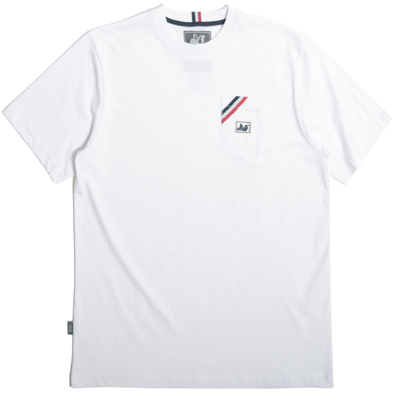 Lavern T-Shirt White - Peaceful Hooligan